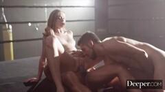 cumshot into panty 2 (Maria) Thumb