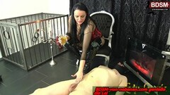 Steamy german bdsm femdom domina spitting and piss game Thumb
