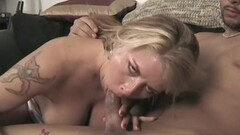 Fit Hairy big titty blonde milf loves fucking younger men Thumb