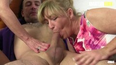 Horny German Grannies Are Taking Cock In FFM Sex Thumb
