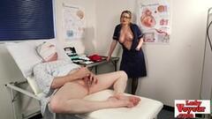 Cute Nurse naughty demands patient masturbate Thumb