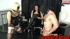 Kinky german bdsm femdom domina and 2 bisexual slaves Thumb
