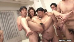 Asian milf gangbanged Thumb