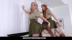 DaughterSwap - Two Hot Teens Get Serviced By Naughty Milfs Thumb