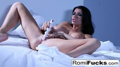 Stunning Brunette Teen Sucks Huge Cock In Amateur Video Thumb