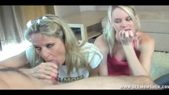 Sexy Step Daughters Join in on the Blowjob Fun Thumb