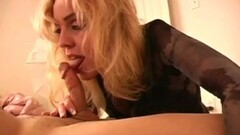 Frisky Lady In Black Suck And Blow The Cock Thumb
