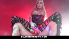 DeviantHardcore - Sexy Busty Blonde Gets Dominated Thumb