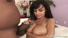 Cute Sexy MILF Lisa Ann Fucking Hard Black Cock Thumb