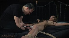 BDSM Teen slave spanked with whip in fetish scene Thumb