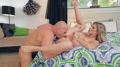 Cute Cory Chase takes on hung muscle stud JMac Thumb