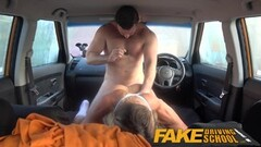 Fake Driving School naughty gym bunny big tits bounce Thumb