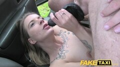 Fake Taxi Sexy Dutch lady short skirt and stockings Thumb