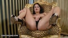 brunette girl masturbation video casting Thumb