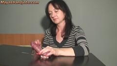 Sexy Mayas handjobbing skills Thumb