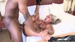 AdultMemberZone - Big Titted Milf craves stiff black cock Thumb