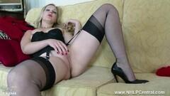 Kinky tease vintage lingerie nylon strips panties wank Thumb