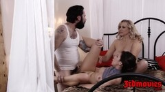 Two pussies to play with Julia Ann and Melissa Moore Thumb