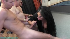 Sexy Ashley Cum Star in wild gangbang Thumb