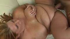 Huge tit milf Sharon Pink rough dirty fuck Thumb