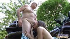 Kinky Grandpa Fucks Teen Hardcore blowjob Thumb