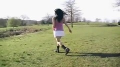 Asian teen dances Thumb