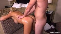 German amateur shoots porn in her living room - Sascha Production Thumb