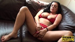 Solo XXX with curly haired Yvette - CzechSuperStars Thumb