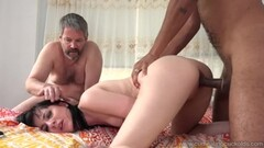 Big titted Charley Chase receives a birthday gift Thumb