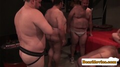 Mature bears assfucking in hot orgy Thumb