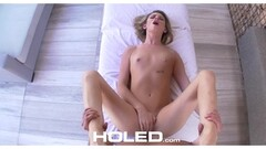 Asshole of beautiful Aspen Ora filled with cock Thumb