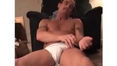 Horny Mature Amateur Steve Beating Off Thumb