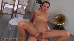 Tempting brunette enjoys sensual fuck Thumb
