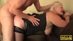 BBW blonde fucked from behind Thumb