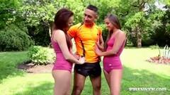 Gym teacher pussy bangs Amirah Adara and Tricia Teen Thumb