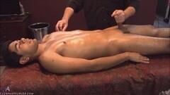 Massaging the sexy Kato Thumb