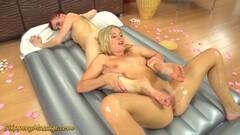 Sexy big-tit slut Pornstars Alexis & Angelina fuck Thumb