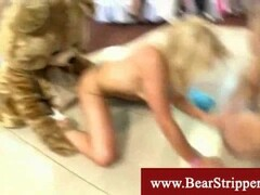 Curvy Russian princess with hairy bush pussy and toy Thumb