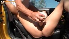French slut gets gangbanged outdoor Thumb