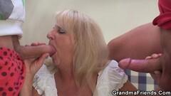 Jenna Oso double pussy penetration + double anal penetration Thumb