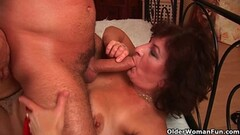 Wife Anal Threesome Big Tits Milf Fucks Husband & Friend Thumb