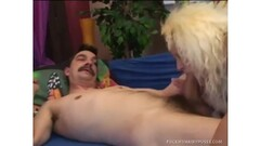 GERMAN TEEN IN STOCKINGS FUCKED BY TWO GUYS WITH CUM TWICE Thumb