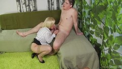 Sexy Blonde MILF Gets Drilled by A Younger Man Thumb