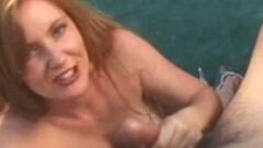 Naughty Natural Redhead MILF Jerk Off Babe Thumb
