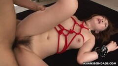 Naughty Sayaka Tsuji Was Squirting While Getting Fingerfucked Thumb