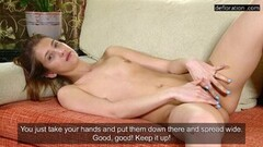 Hot Natasha Benie Shows Her Untouched Virgin Pussy Thumb