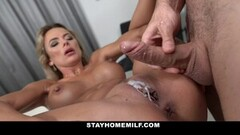 Kinky Stepmom Shalina Devine Needs A Relaxing Massage Thumb
