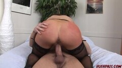 Vanessa works her Hot MILF Magic on a Hard Young Boner Thumb