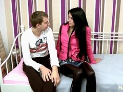British Lesbians Cate and Michelle Fingering and Licking Themselv Thumb