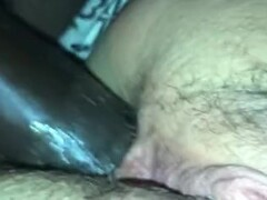 Blonde bound with tape stripped off in soft bed Thumb